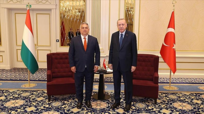 President Erdogan meets leaders of NATO countries ahead of Monday