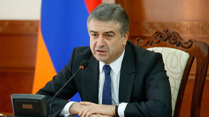 """""""Der Krieg hat eine tiefe Krise mit sich gebracht""""   Karapetyan"""