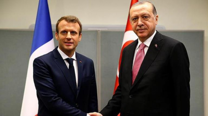 Turkish, French presidents hold meeting