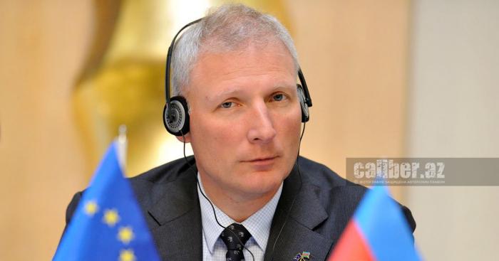 Embajador de la UE en Azerbaiyán comentó la proporción de los mapas de los campos minados por Armenia a Azerbaiyán