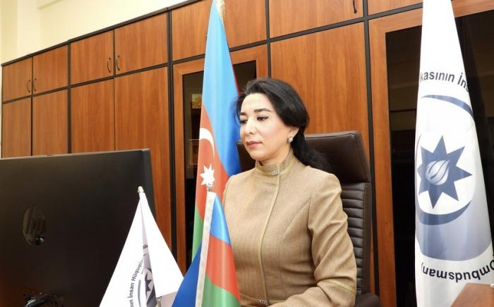 Aserbaidschanische Ombudsfrau fordert Armenien nachdrücklich auf, Minenfeldkarten anderer befreiter Gebiete bereitzustellen