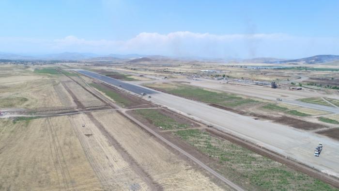 Azerbaijan unveils date of first test flight at Fuzuli Int'l Airport