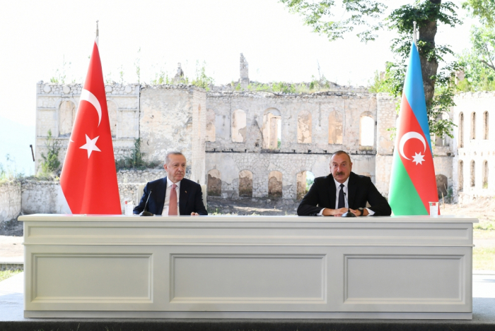 """""""Joint Declaration on alliance signed today raises our relations to the highest peak"""" - President Aliyev"""