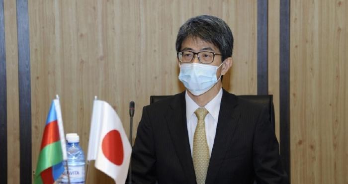 """Embajador de Japón:  """" Me causó una fuerte impresión lo visto en Aghdam"""""""