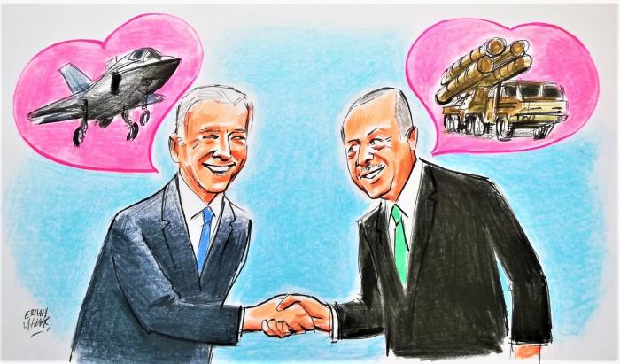 Erdogan-Biden meeting an indicator for other US allies