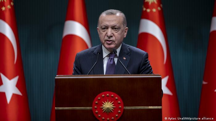 """Erdogan:  """"Nuestras relaciones en la industria de defensa se desarrollarán de forma diferente en el futuro"""""""