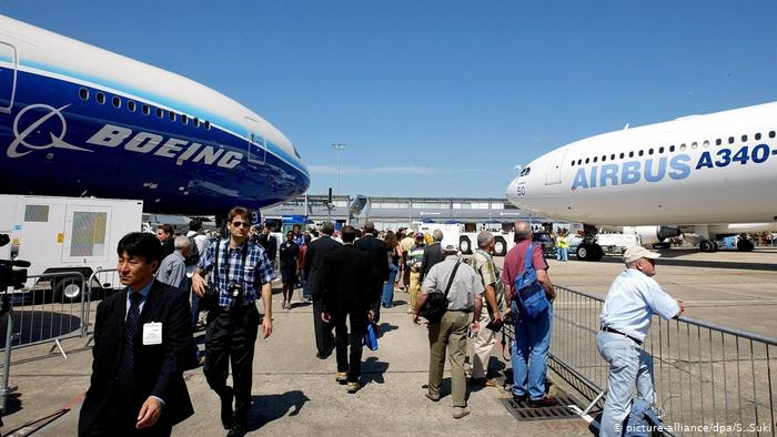 EU, US agree on truce to end 17-year Airbus-Boeing subsidy war