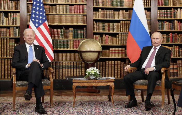 Talks in private between Putin, Biden concluded, Kremlin spokesman says