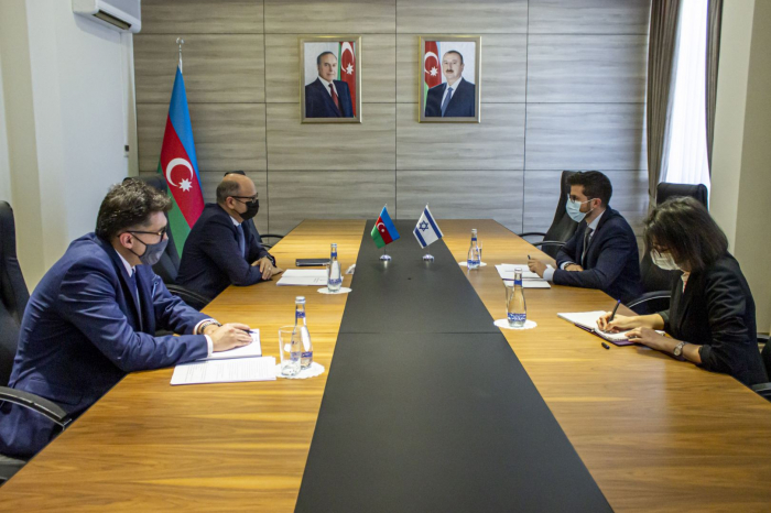 Azerbaijan, Israel discuss energy projects in liberated lands