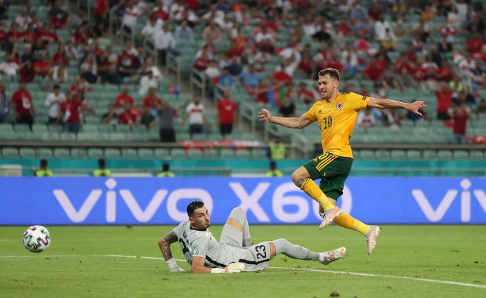 Euro 2020:  le Pays de Galles bat la Turquieà Bakou