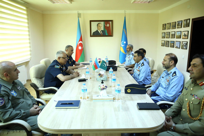 Azerbaijani and Pakistani Air Forces discuss cooperation issues
