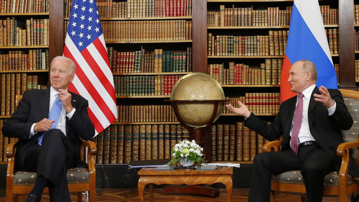 Putin tells Biden he hopes meeting will be productive -   NO COMMENT