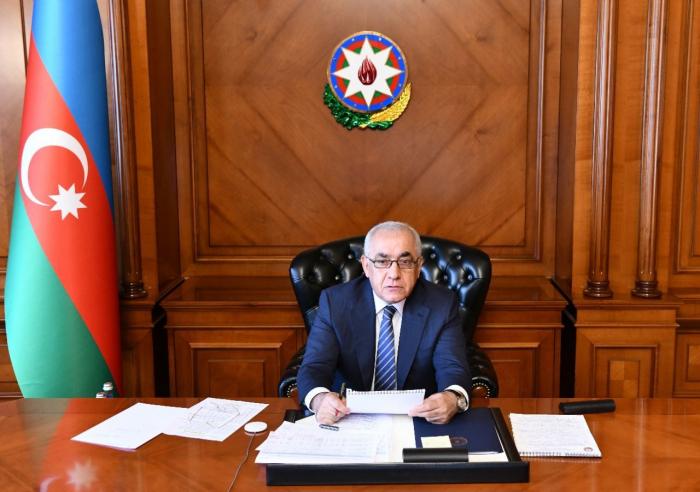 أذربيجان تناقش المسائل الخاصة بإزالة العوائق جراء عدوان أرمينيا