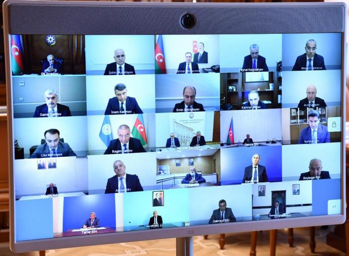 Le Premier ministreazerbaïdjanais donne des instructions sur des dommages causés par l