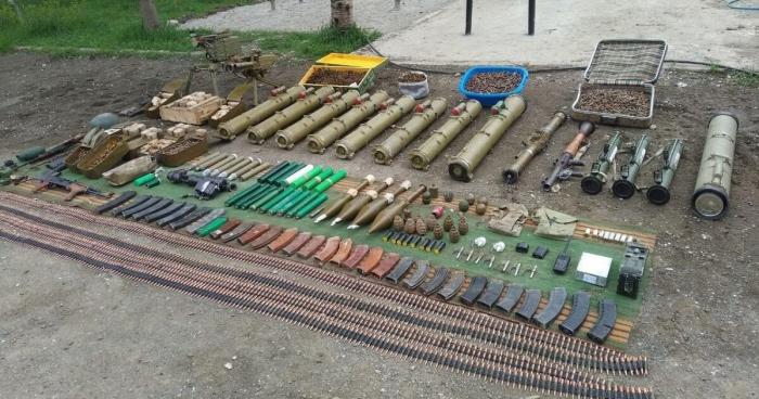 El Ministerio del Interior localizó armas y municiones en Shushá