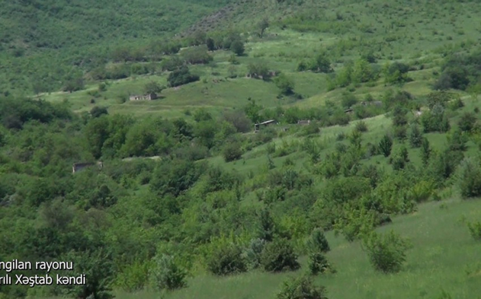 Imágenes de la aldea de Sarili Khashtab del distrito de Zangilan