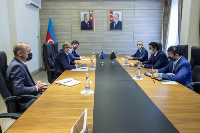 أذربيجان وقطر تبحثانإمكانات التعاون المستقبلية في مجال الطاقة