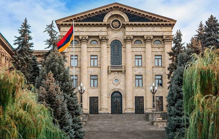 Trois forces politiques représentées au nouveau parlement arménien