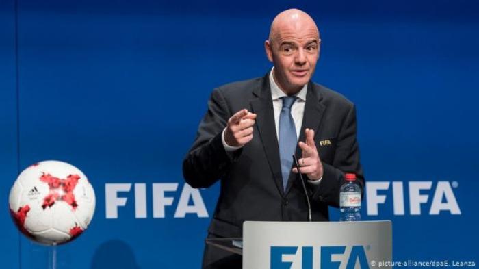 Le président de la FIFA arrive aujourd
