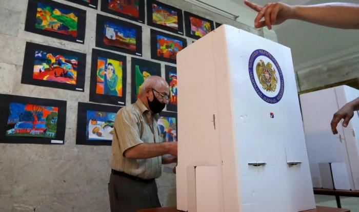 Armenia CEC counts 99% of ballots: Pashinyan leads