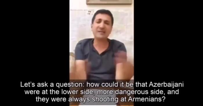"""Bagdasarián:  """"Los militares armenios dispararon ebrios contra las posiciones azerbaiyanas""""-  Video"""