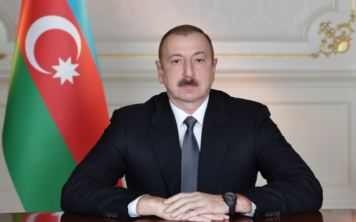 Azerbaijani president allocates funding for construction of road in Goranboy