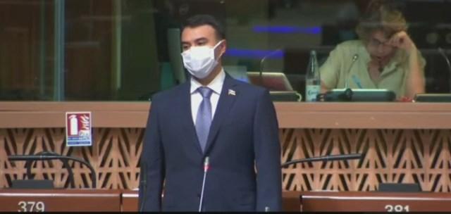 Azerbaijani MP calls on PACE to put pressure on Armenia -   VIDEO