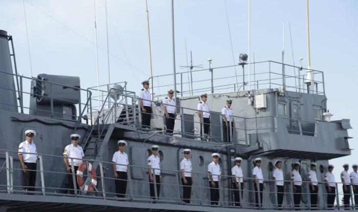 La marine azerbaïdjanaise lance des exercices tactiques - PHOTO