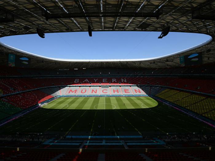 UEFA verbietet Regenbogen-Arena beim Spiel Deutschland-Ungarn
