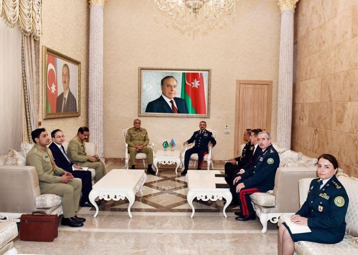 Azerbaijan, Pakistan exchange views over joint co-op on border security