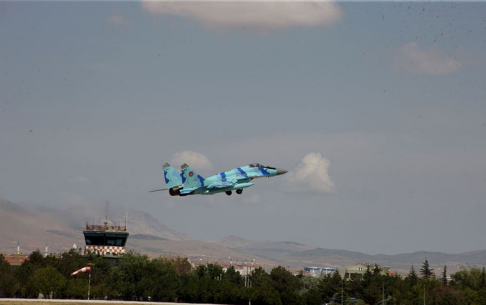 Azerbaijan participatesAnatolian Eagle - 2021 int'l flight tactical exercises