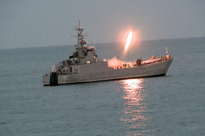 Les forces navales azerbaïdjanaises terminent leurs exercices tactiques -   VIDEO - PHOTOS