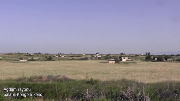 Salahli Kangarli village of Azerbaijan's Aghdam district –   VIDEO