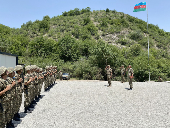 Another new modular military unit commissioned in liberated territories of Azerbaijan–  VIDEO