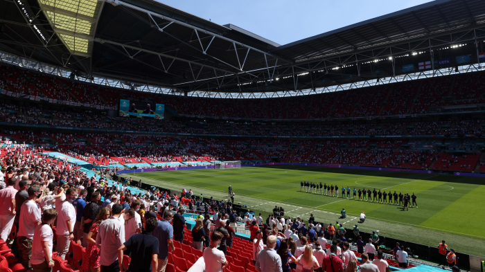 More than 60,000 fans to attend Euro 2020 semis, final at Wembley