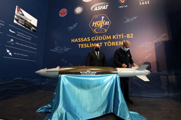 Turkish forces add domestically sourced smart bomb mod to arsenal