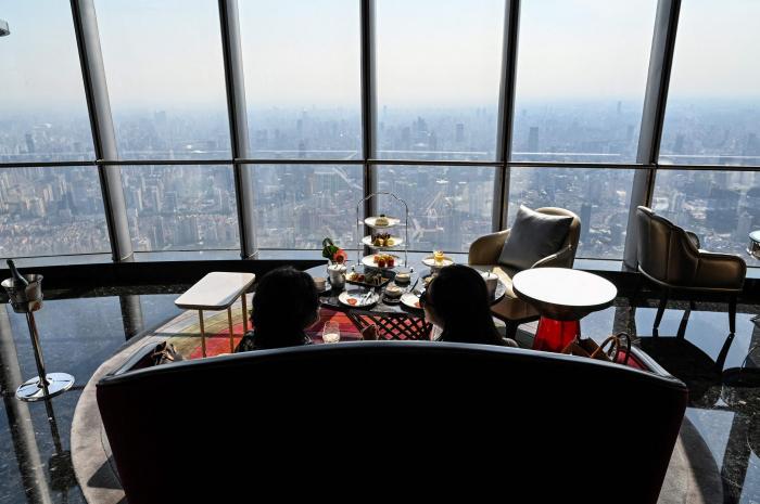 Shanghai opens world
