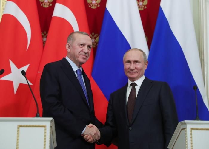 Turkish and Russian leaders discuss Nagorno Karabakh