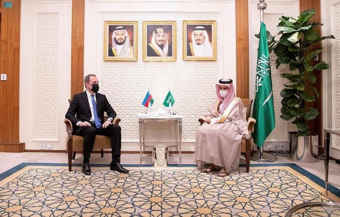 FM Azerbaijan and Saudi Arabia talk bilateral relations