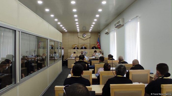 Indictment announced at trial of 14 Armenian terrorists in Azerbaijan- UPDATED