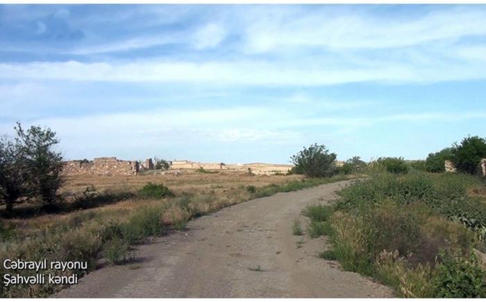 Shahvalli village of Azerbaijan's Jabrayil district –   VIDEO