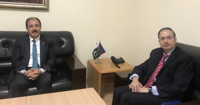 Ambassadors of Pakistan and Turkey discuss cooperation with Azerbaijan