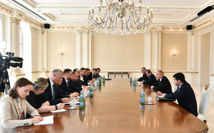 President Aliyev receives FMs of three countries and EU delegation - UPDATED