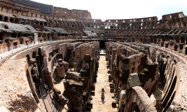 Underground tunnels of Rome's Colosseum fully opened to public for the first time