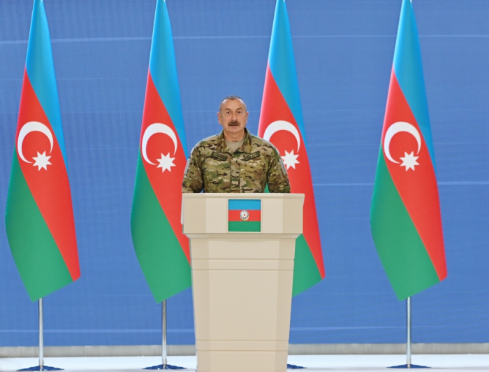 Azerbaijani president meets with leadership and personnel of Azerbaijani army - PHOTOS, UPDATED