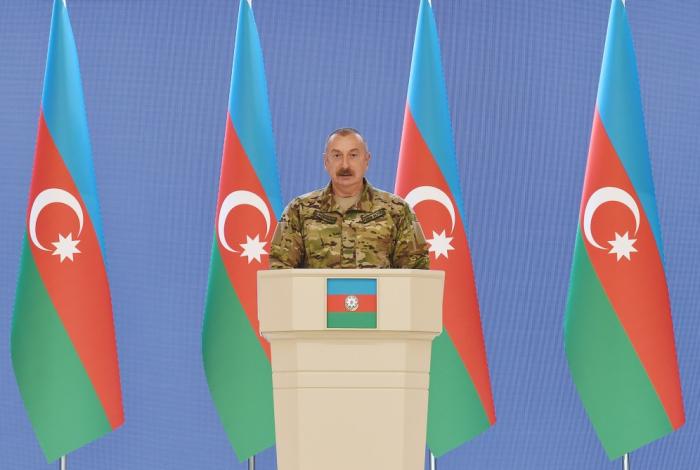 """Prezident:    """"Birinci Qarabağ müharibəsi bizim üçün böyük faciə idi""""."""