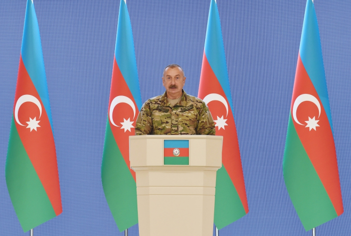 """""""The number of our Armed Forces personnel will be increased"""" - Ilham Aliyev"""