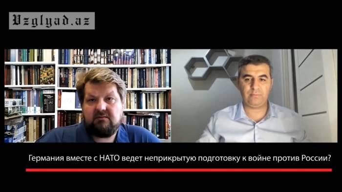 Bereitet sich Deutschland gemeinsam mit der NATO offen auf einen Krieg gegen Russland vor? -  INTERVIEW