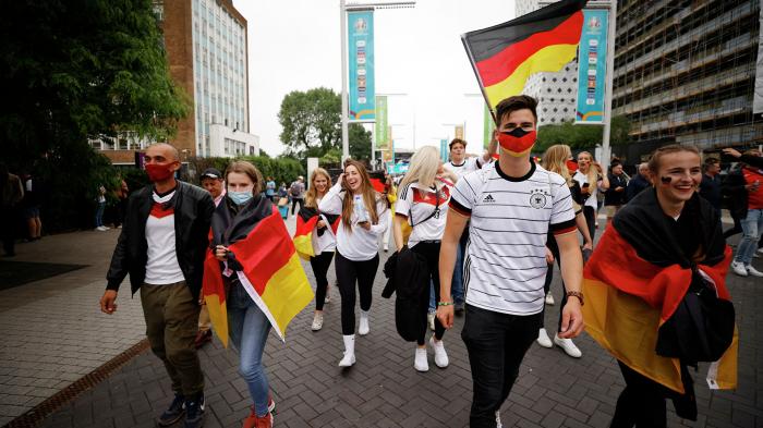 Britische Blätter ohne anti-deutsche Parolen vor EM-Achtelfinale in London
