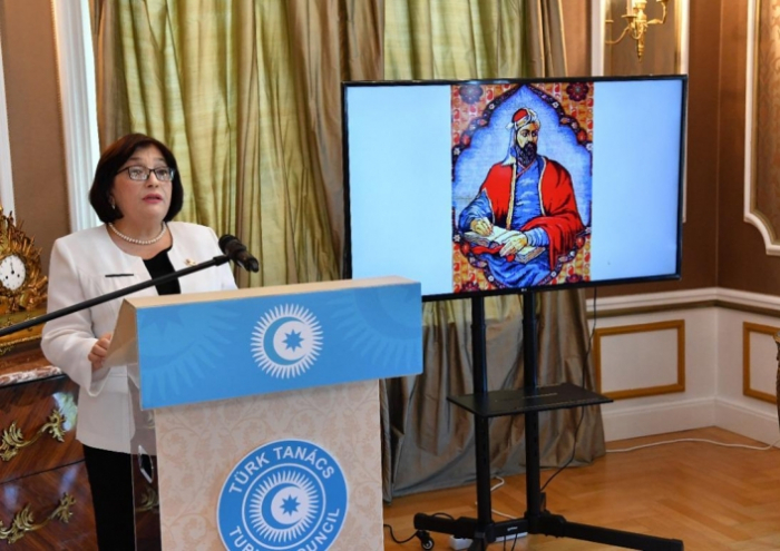 Azerbaijani parliament speaker addresses event hosted by Turkic Council's office in Budapest